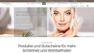 Online-Shop Referenz Wellness & Beauty