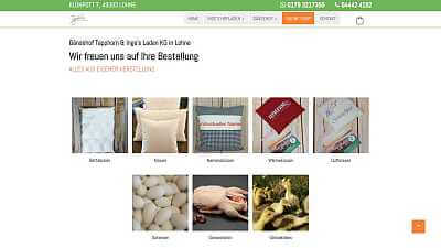 Online-Shop Referenz Gänsehof Tapphorn